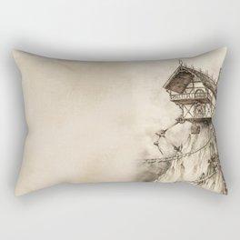 Steampunk House Rectangular Pillow