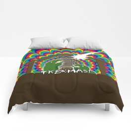 Merr-roary T-ReXmas! Comforters