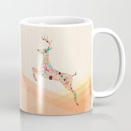 Christmas reindeer 5 Coffee Mug