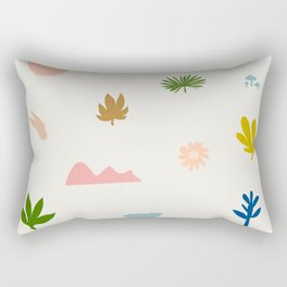 Abstraction_Nature_Wonderful_Day_02 Rectangular Pillow