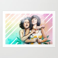 These Are The Broads You Are Looking For Art Print