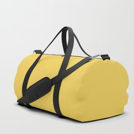 Primrose Yellow | Pantone Fashion Color Spring : Summer 2017 | Solid Color Duffle Bag