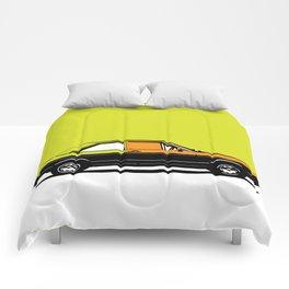 Pop ART car Comforters