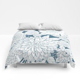 Blue Sketchbook Comforters