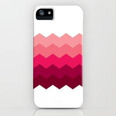 Chevron Pink Slim Case iPhone (5, 5s)