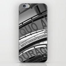 Motorentechnik iPhone & iPod Skin