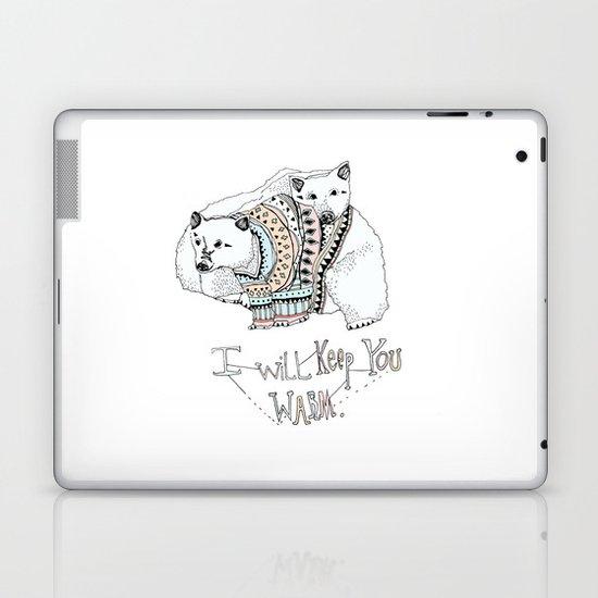 i will keep you warm Laptop & iPad Skin