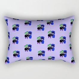 teen titans - theme Rectangular Pillow