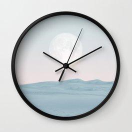 Pastel desert II Wall Clock