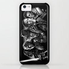 Freddy Krueger Jason Voorhees Michael Myers leatherface Darth Vader Blackest of the Black iPhone 5c Slim Case
