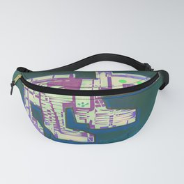 Spatial Bot Dog Fanny Pack