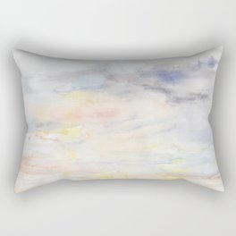 Tenderly Thunderous Rectangular Pillow