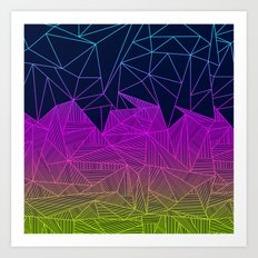 Bailey Rays Art Print