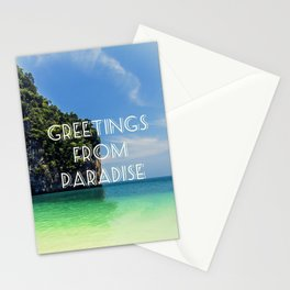 Greetings from Paradise Stationery Cards