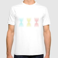 Primary MEDIUM White Mens Fitted Tee