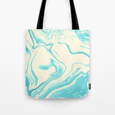 Light blue marble #society6 Tote Bag