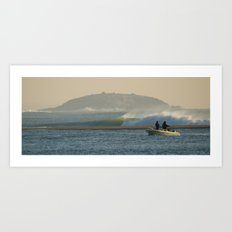 Fish France Art Print