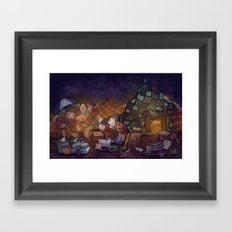 Blanket Fort Framed Art Print