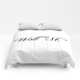 Wall Street Comforters