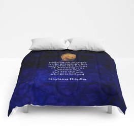 Holding On To Anger Inspirational Buddha Quote Comforters