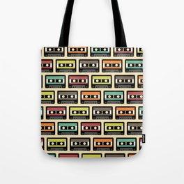 Retro Casettes  Tote Bag