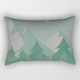 Mountain Camp Rectangular Pillow