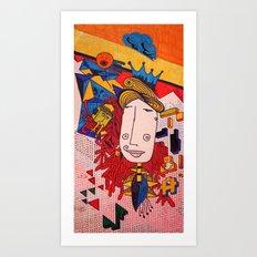 Reina Mala Limón Art Print