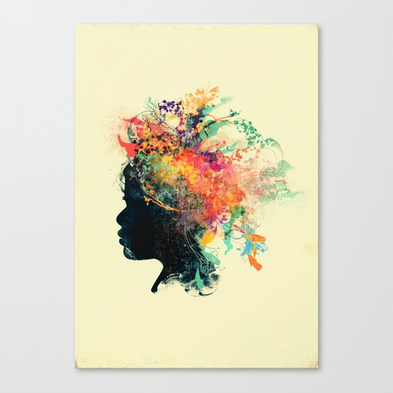 Wildchild (aged ver) Canvas Print