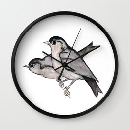Feathered Friends Wall Clock