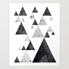 Pyramid Valley Art Print