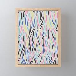 Falling Petals II Framed Mini Art Print