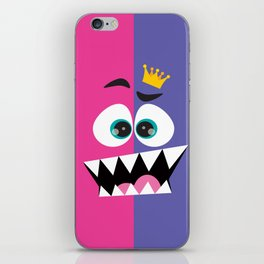 face the king... iPhone Skin