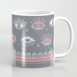 Eye Spy Gray Coffee Mug