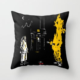 Don't You Ever Raise Your Voice At Me Throw Pillow