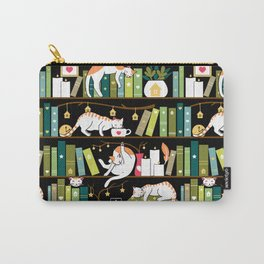 Library cats Carry-All Pouch