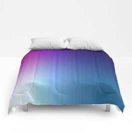Fuchsia Blue Ombre Comforters