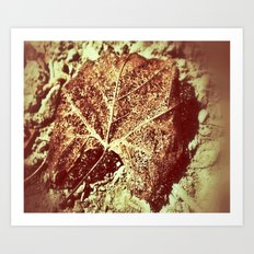 You Left Your Mark Art Print