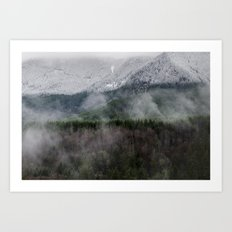 Calm of the Mountian Art Print
