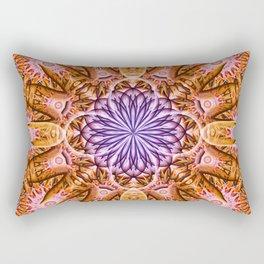 Nucleus Mandala Rectangular Pillow