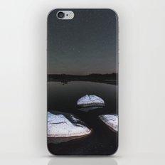 Boulders in Black iPhone & iPod Skin