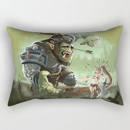 Orc problems Rectangular Pillow