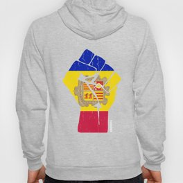 Team Andorra Flag Tshirt Hoody