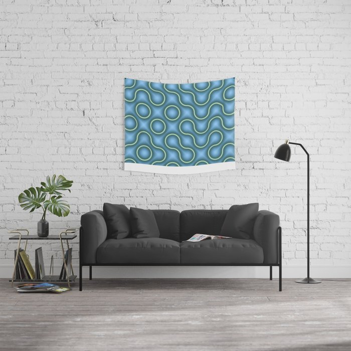Round Truchets in MWY 01 Wall Tapestry