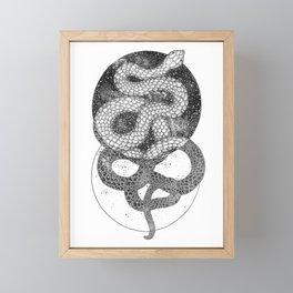 Good and Evil Framed Mini Art Print