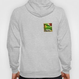 South Africa grunge sticker flag Hoody