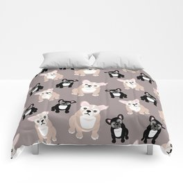 French Bulldog Puppies Comforters