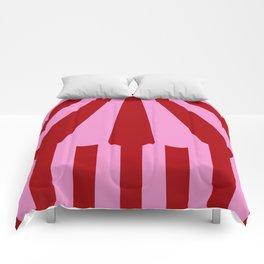 pink tent Comforters