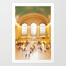 Grand Central Station NYC Art Print