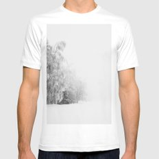 Winter frost MEDIUM Mens Fitted Tee White