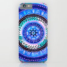 Mandala 2 {blue} Slim Case iPhone 6s